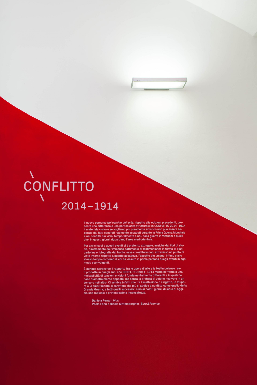 Claudia Polizzi Exhibition design, Conflitto 2014-1914, 2014