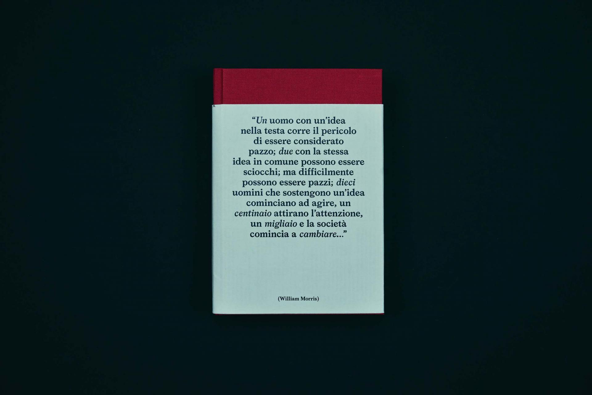 Claudia Polizzi Research, Un uomo con un idea nella testa, 2014