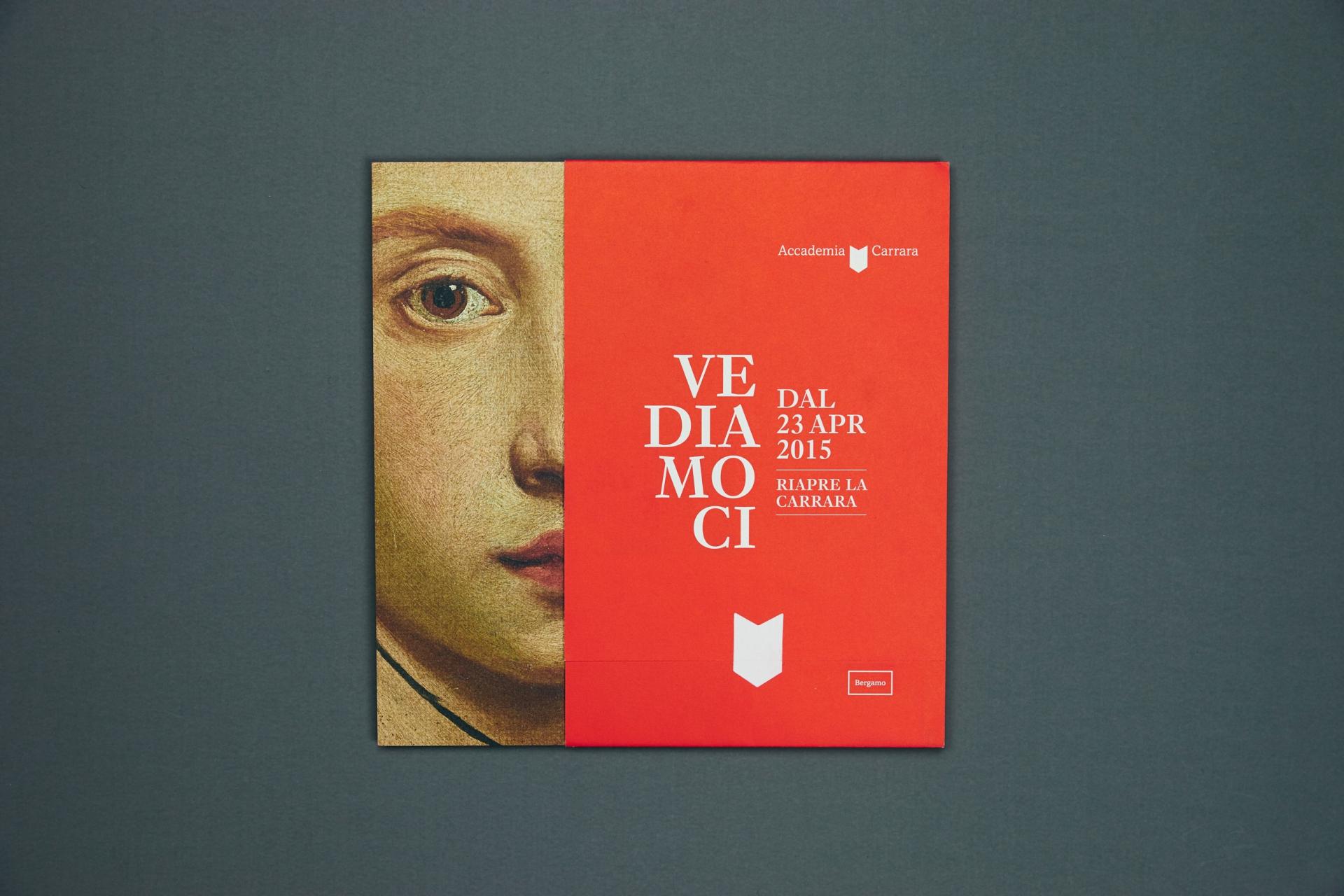 Claudia Polizzi Studio L&B, Accademia Carrara, 2014-2016