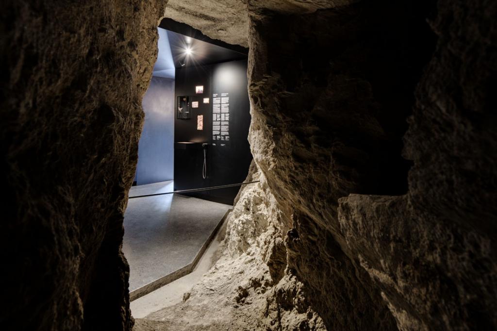 Claudia Polizzi Exhibition design, Der Einstieg – Miniere e insediamenti all'Ortles, 2018