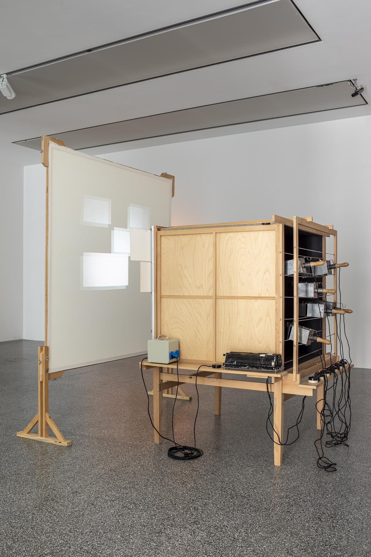 Claudia Polizzi Exhibition design, Ludwig Hirschfeld-Mack. Colored light plays, 2019